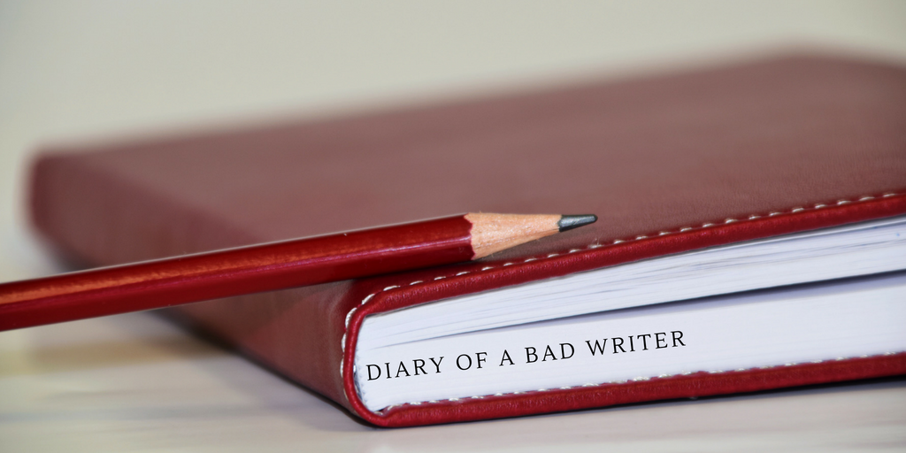 Diary of a bad writer banner