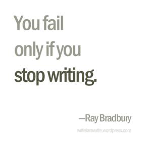 Fail writing