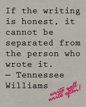 Honest writing