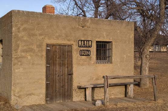 Two cell jail built in 1912 in western USA