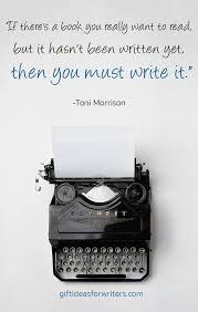 You write it